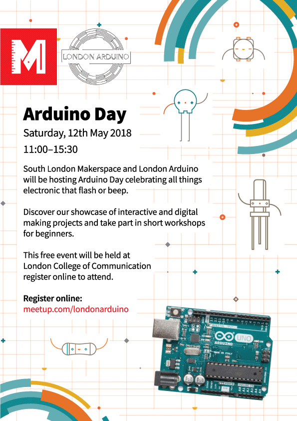 Arduino Day 2018 ! - 12th May - Events - Discourse – South London