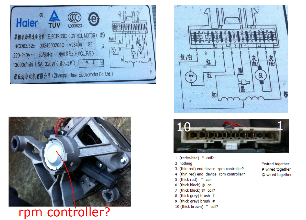 Washing Machine Motor To Variable Speed Projects Discourse Old Wiring Diagram Pasted Image1252x900 111 Mb