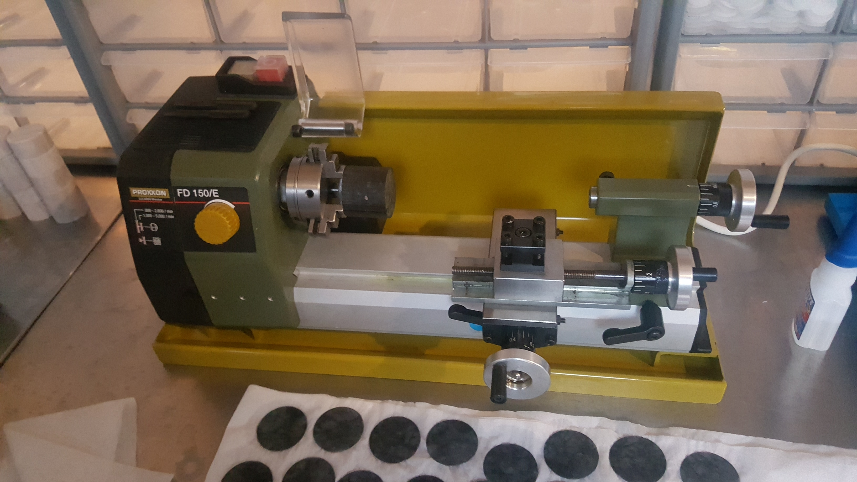 New mini metal lathe for the space - too small - Discussion